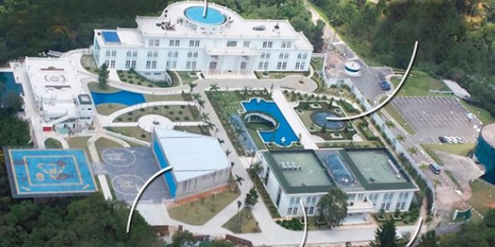 maior mansão do brasil