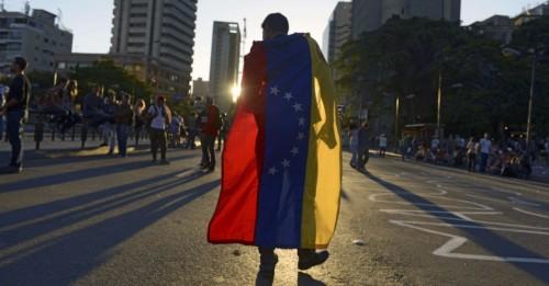 mentiras sobre a Venezuela protestos maduro