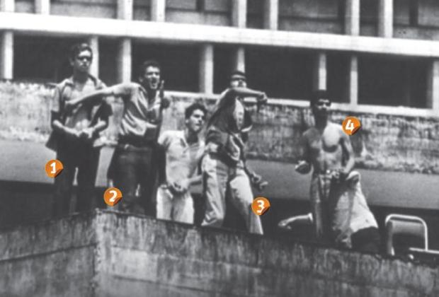 jovens foto histórica de 1967 ditadura