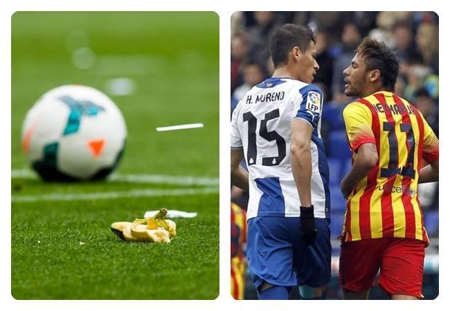 banana para Neymar e Daniel racismo espanha futebol