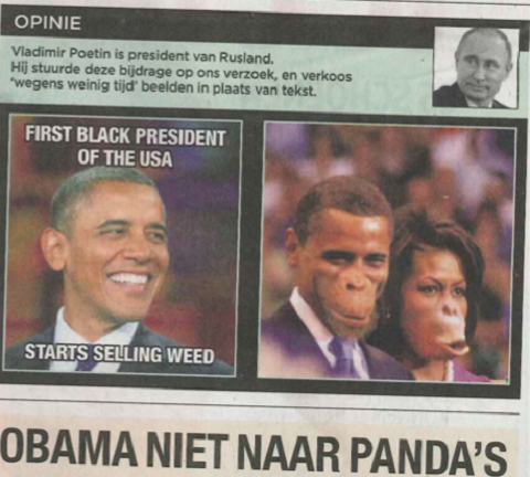 obama michelle macaco
