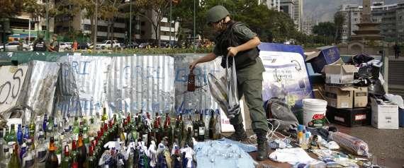 protestos venezuela molotov