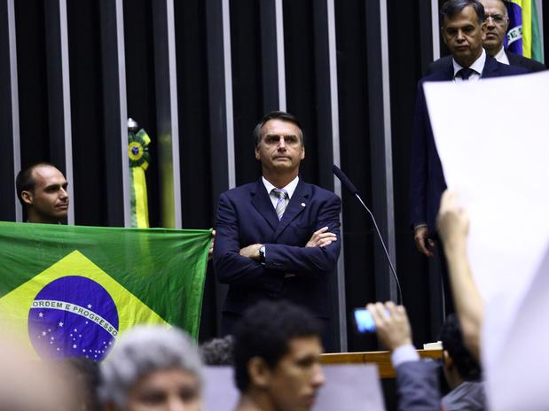 bolsonaro homenagem ditadura congresso