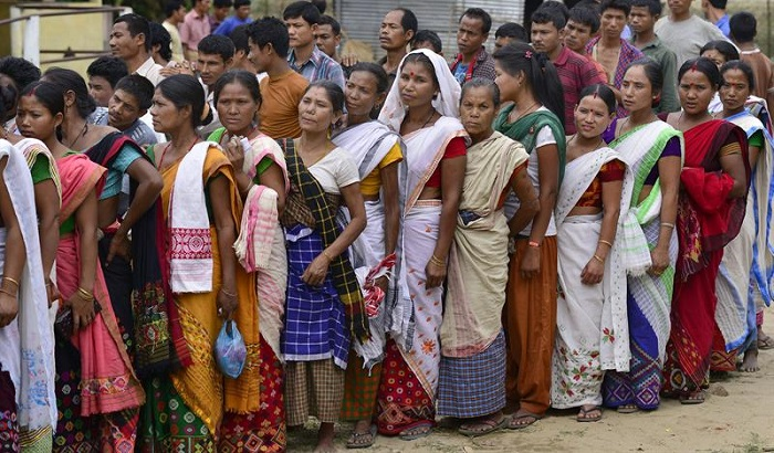 mulheres indianas eleições índia