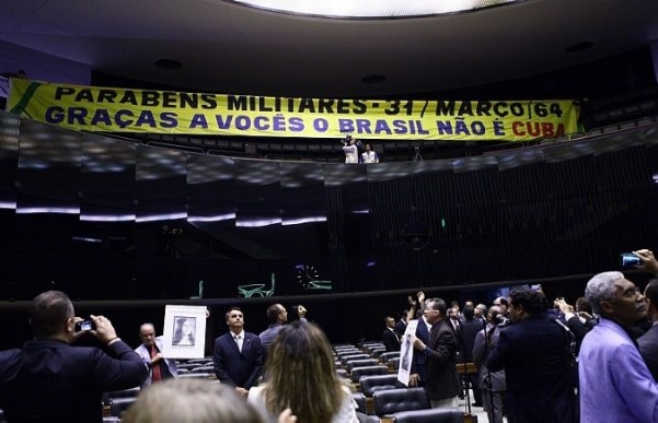 bolsonaro faixa militares golpe 1964