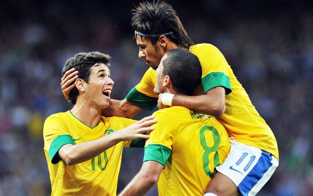 neymar oscar brasil futebol
