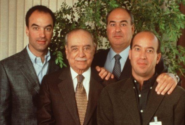 família marinho mais rica brasil