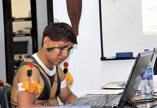 índio mestrado unb