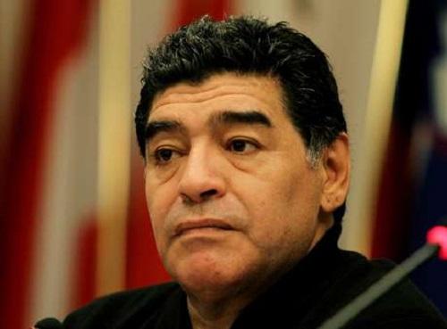 Maradona diz que vaia a Dilma é 'absurdo' (Reprodução)