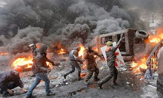 Protesto Ucrânia Praça Maidan