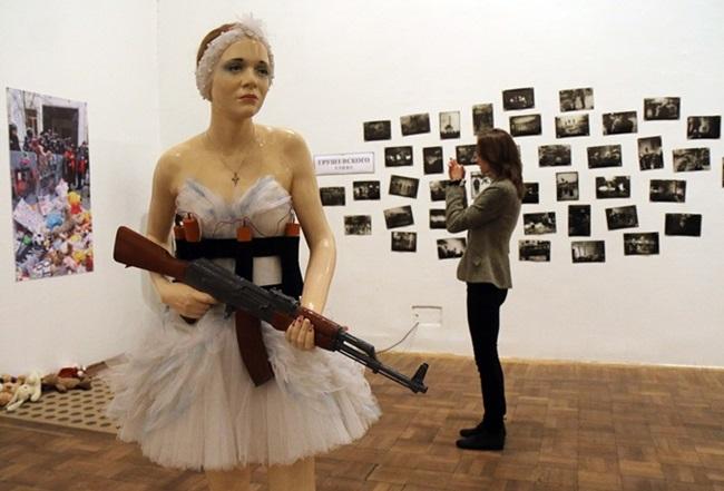 Bailarina Exposição Ucrânia