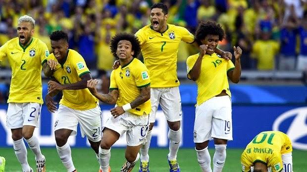 brasil chile copa 2014