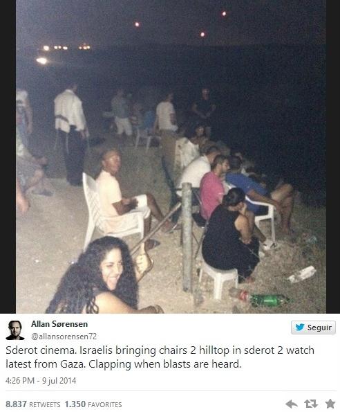 cinema gaza israel guerra