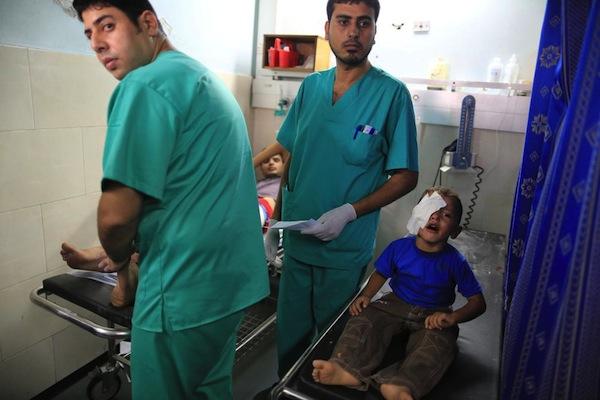 crianças palestina gaza