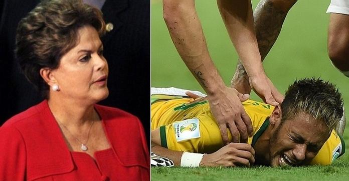 dilma carta neymar