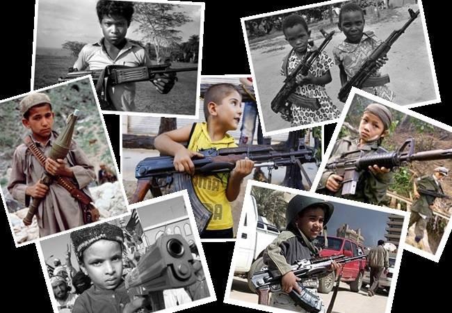 escravas sexuais crianças guerra mundo armas