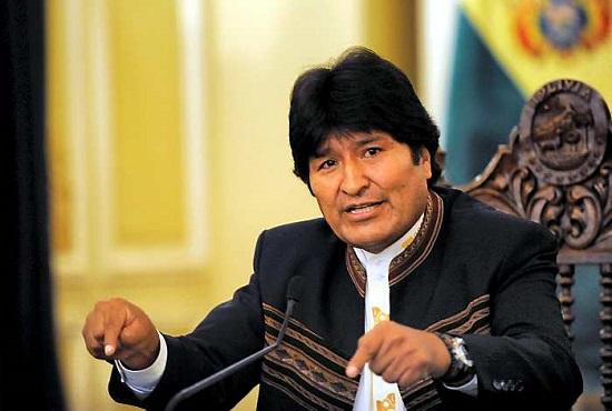 evo morales aprovação reeleição bolívia