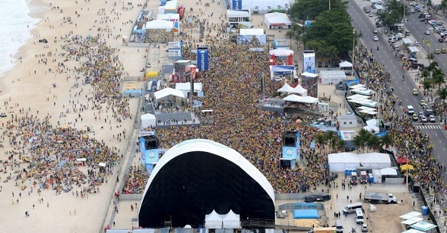fan fest copacabana copa 2014