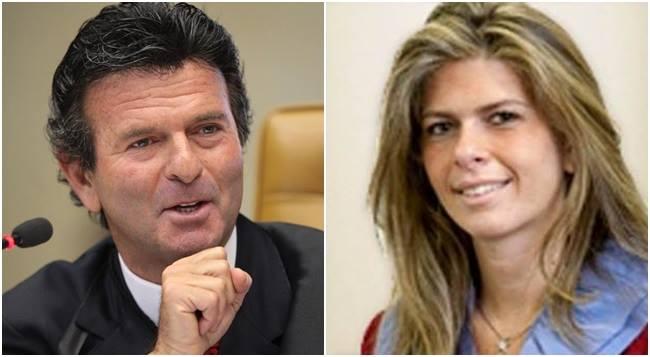 Luiz Fux mata no peito filha marianna