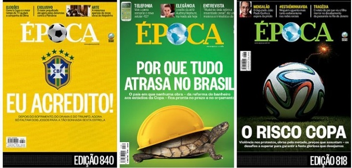 Copa do Mundo no Brasil oportunismo da Globo 2014