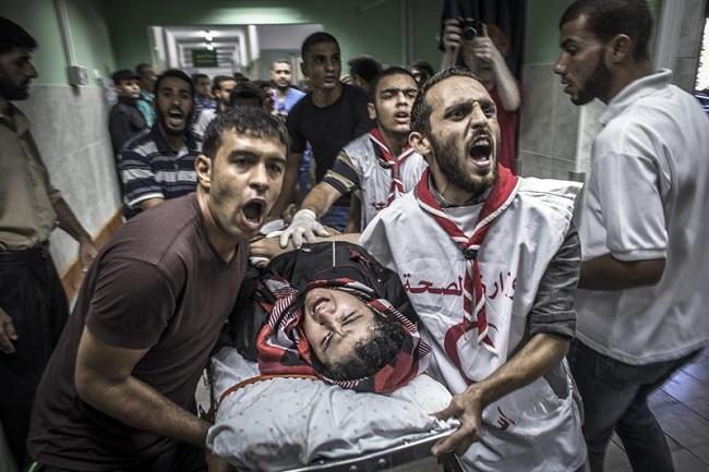 palestina israel ataque hospital