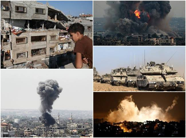israel gaza palestina bombardeio guerra