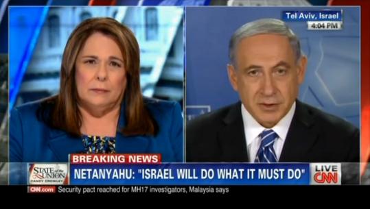 israel cnn benjamin mídia
