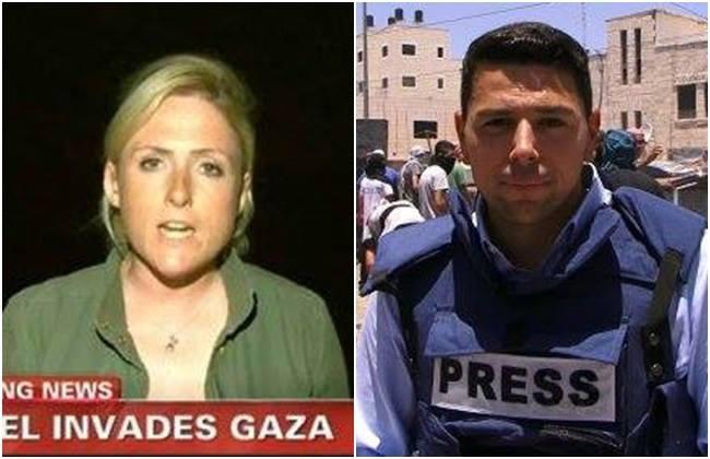 jornalistas gaza palestina israel