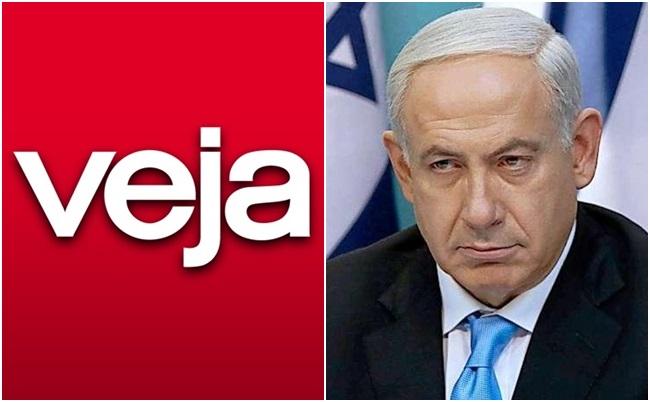 revista veja israel Benjamin Netanyahu
