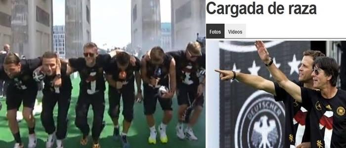 racismo em música alemanha argentina copa 2014