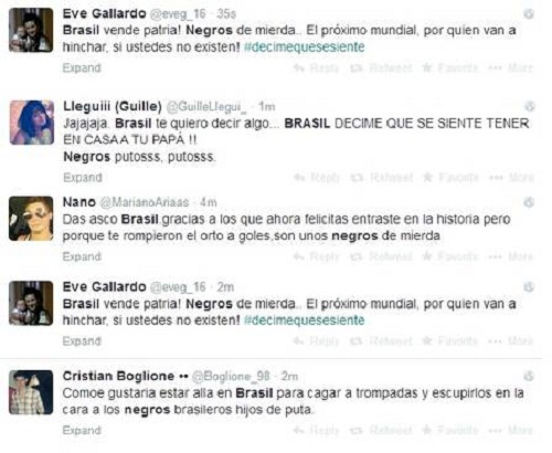 racismo brasil argentina