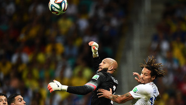 tim howard eua bélgica copa recorde
