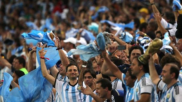 torcida argentina copa 2014