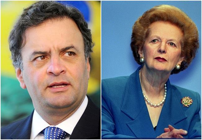 aécio neves Margaret Thatcher