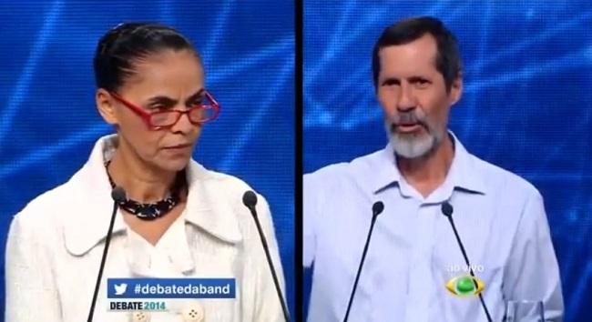 eduardo jorge marina magrinha debate