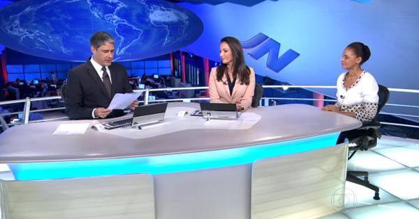 marina silva jornal nacional