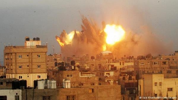 bombardeio israel gaza ataque
