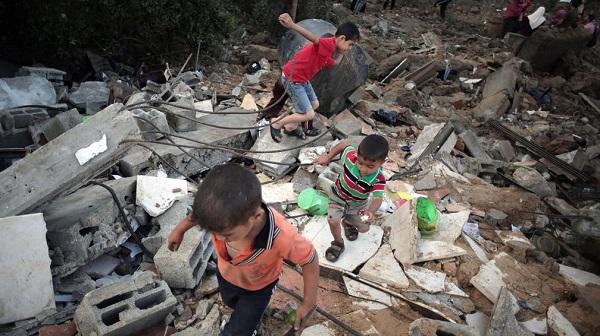 israel crianças gaza