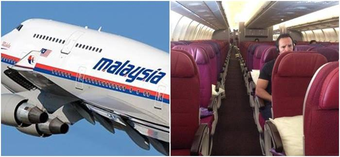 malaysia airlines passageiros vazios