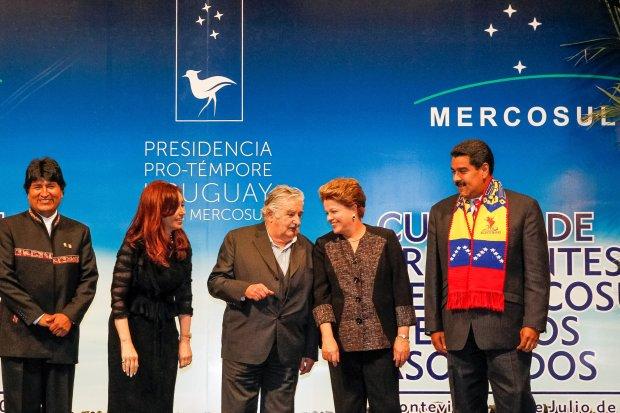 mercosul dilma mujica maduro brasil