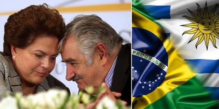 brasil uruguai dilma mujica