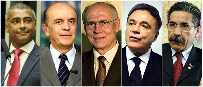 eleições senado 2014 romário suplicy