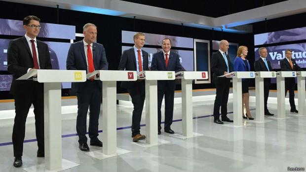 eleições suécia