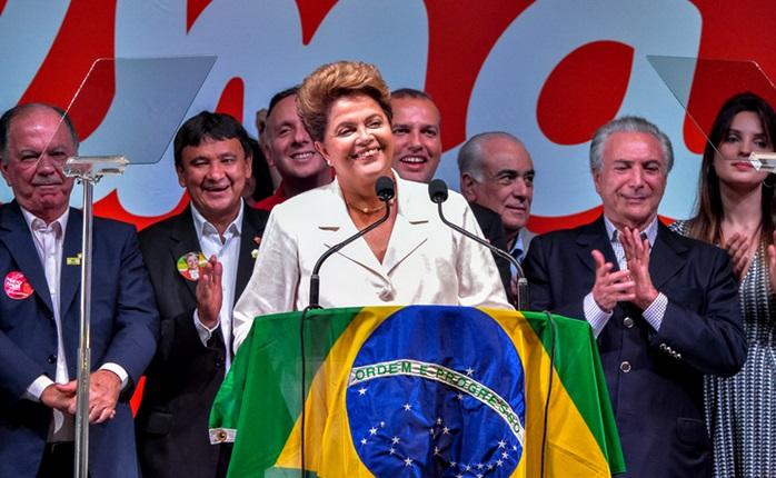 dilma rousseff reeleita presidente republica
