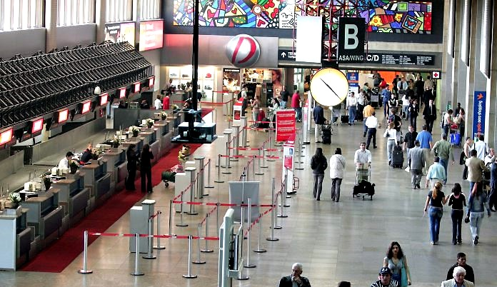 aeroportos nacionais  melhor indice pontualidade