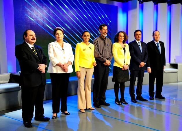 debate globo candidatos 2014