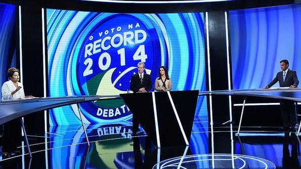 debate record segundo turno dilma aécio