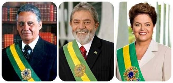fhc lula dilma brasil