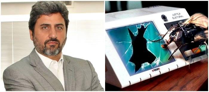 Sérgio Thompson Flores urna eletrônica