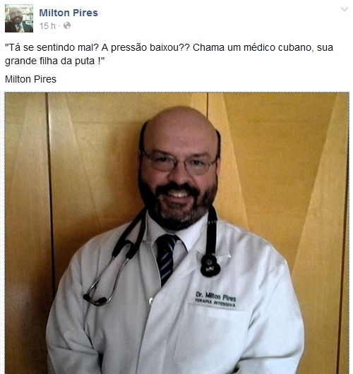 médico milton pires dilma